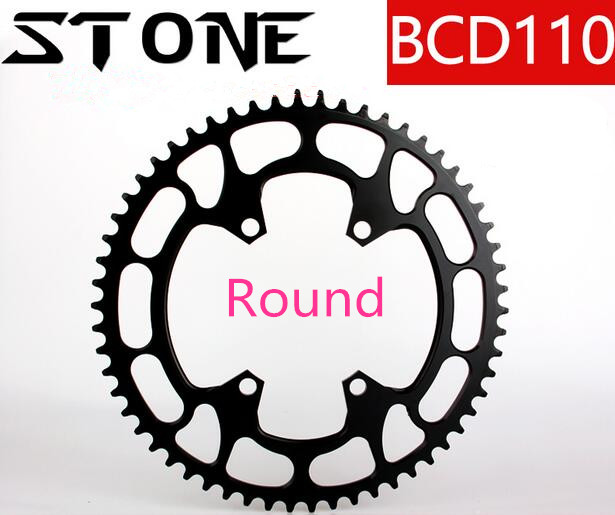2017 Round/Oval 110BCD 32T-58T Cycling Chainring Ultralight MTB Bike Chainwheel Circle Crankset Plate for 5800 6800 4700 9000 motsuv bicycle crank 104bcd oval 32t 34t 36t 38t chainring narrow wide ultralight mtb bike chainwheel circle crankset plate