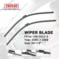 """Wiper Blade para VW GOLF 5 (2005-2009) 1 conjunto de 24 """"+ 19"""""""