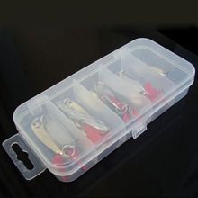 Promotion Mixed Colors Fishing Lures Spoon Bait Metal Lure Kit iscas artificias Hard Bait Fresh Water Bass Pike Bait