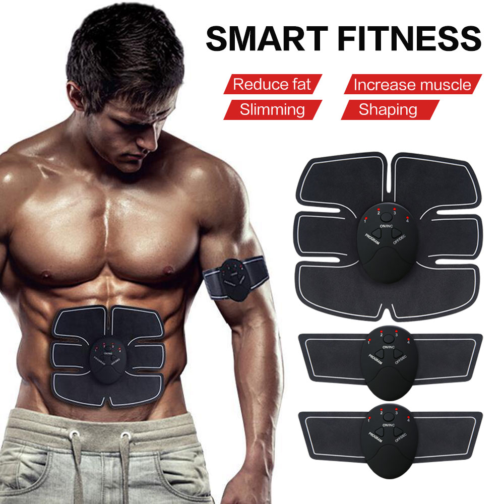 Sports & Entertainment Responsible Smart Home Pink Exercises Equipment Body Shape Muscle Stimulation Trainer Stickers Pad Fat Burning Abdomen Arm Massage Ab Rollers