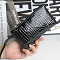 New Fashion Coin Purse Leather Women Clutch Bag Alligator Coin Pouch Women Clutches Wallet Evening Bags Monederos Mujer Monedas
