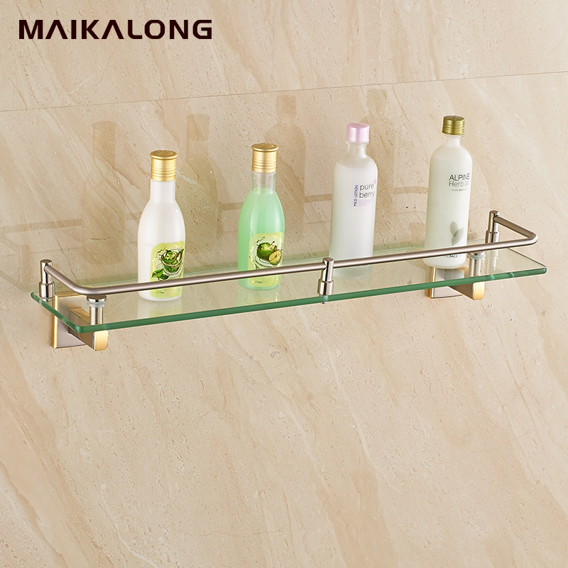 New luxury Bathroom Accessories Brass gold brush Finish With ...