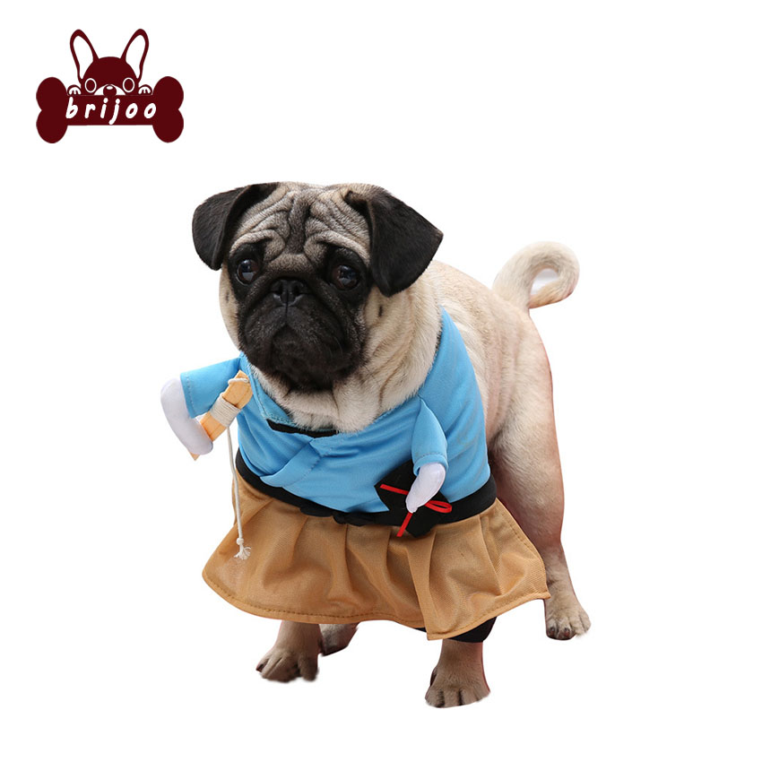 Funny Cat Dresses Dog Costume Suit Dog Clothes Corsair Halloween Costume Puppy Cloth Dressing Up Party Cloth Free Shipping