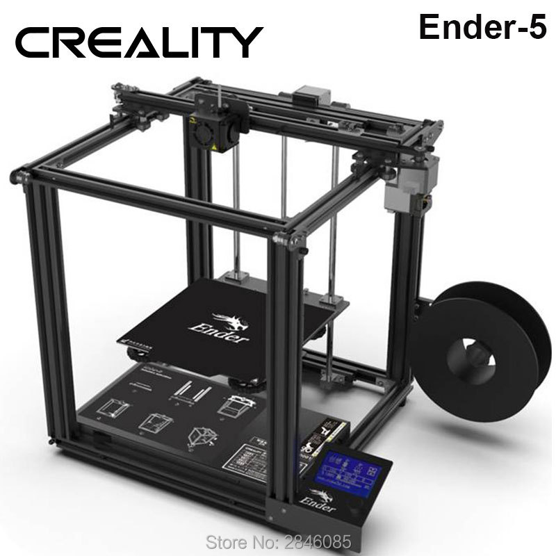 Image 3 - CREALITY 3D Printer Ender 5 Dual Y axis Motors Magnetic Build Plate Power off Resume Printing Enclosed Structure-in 3D Printers from Computer & Office