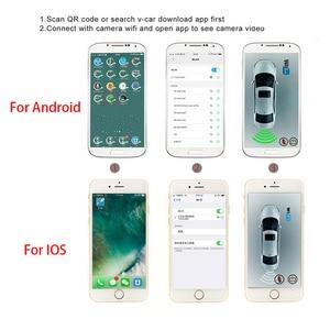 Image 5 - OTERLEEK WIFI רישיון צלחת אחורית מצלמה Wifi לגבות מצלמה עבור ipad עבור iPhone אנדרואיד רכב GPS