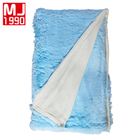 Hot Luxurious Large Warm Thick Sherpa Velvet Mink Throw Blanket Coverlet Reversible Fuzzy Microfiber All Season