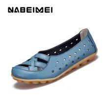 Женская обувь, сандалии 2019, модная дышащая обувь на плоской подошве, Классические сандалии из свиной кожи, большие размеры 35-44