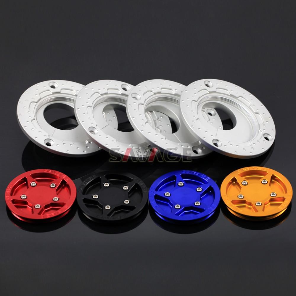 For HONDA CB1000R CB1000 CB1100 CB1300 CB500/S CB400 Motocycle Accessories CNC Gas Fuel Tank Cap Cover