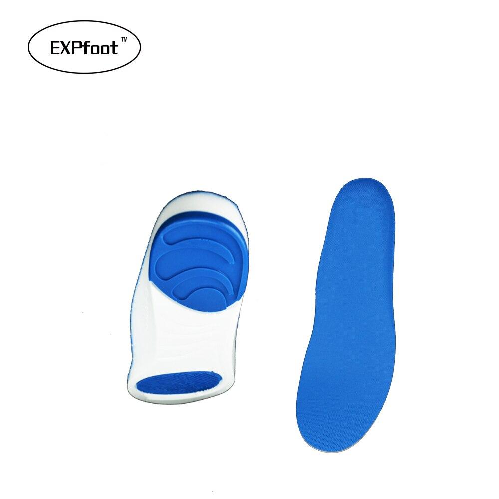≧Deporte plantillas almohadillas de absorción de choque Running ...