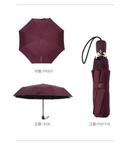 Image 5 - Camellia parapluie pliable, marque de luxe, automatique, UV, haute qualité, transparent, pluie pour hommes et femmes