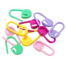 Urijk 20 шт. цветные пластиковые маркерные кольца для стежков, держатели для игл, зажим для вязания крючком, инструмент для фиксации, инструменты для рукоделия, швейные инструменты