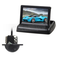 DIYKIT 4 3 Inch Car Reversing Camera Kit Backup Car Monitor LCD Display Car Rear View