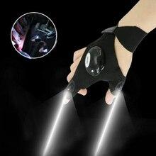 1 stücke Beleuchtung handschuh Nacht auto reparatur handschuh led licht Nacht angeln lampe handschuh hängen köder lampe nacht angeln lieferungen