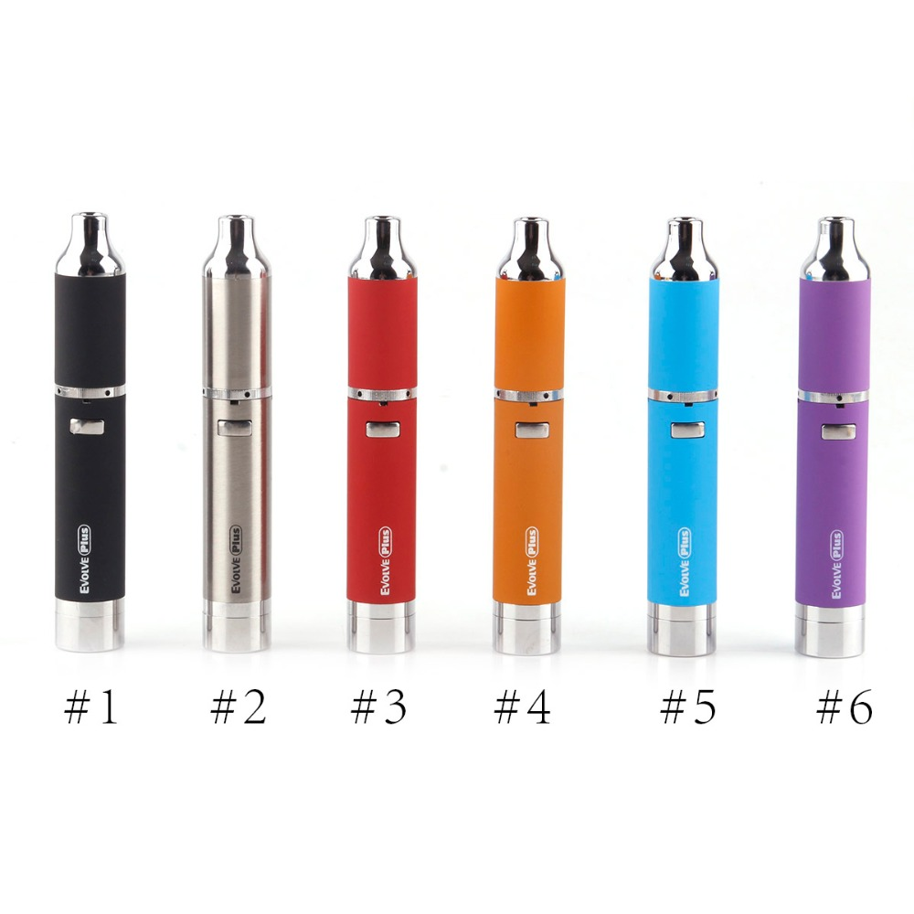 Yocan Evolve Plus Kit 1100mah Battery E Cig Kits Wax Pen Kit Quartz Dual Coils Wax Pen Evolve Vaporizer Original стоимость