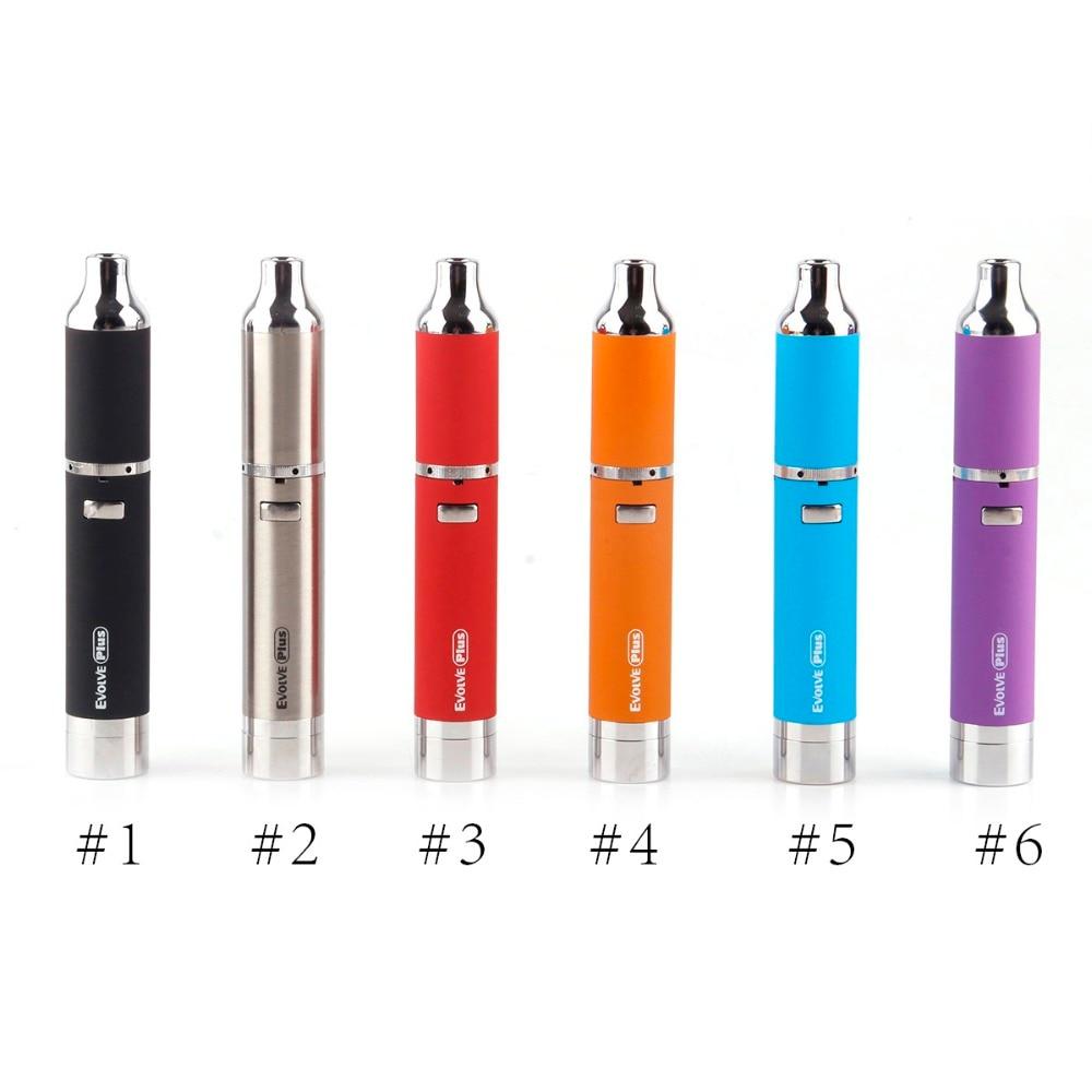 Yocan Evolve Plus Kit 1100 mah Batterie E Cig Kits Wachs Stift Kit Quarz Dual Spulen Wachs Stift Evolve Verdampfer original