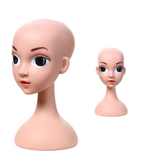 High Quality Realistic Plastic Lovely Kid Mannequin Head,Manikin Dummy Head