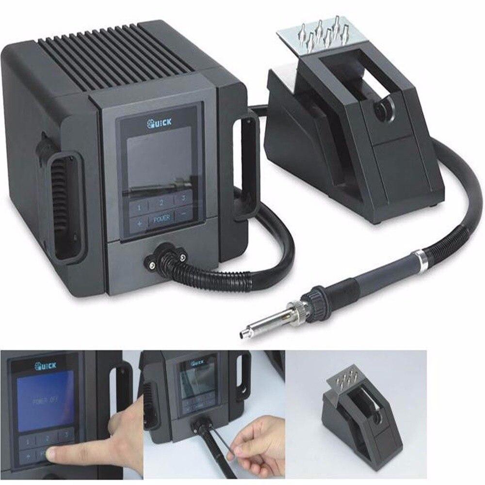 Rapido TR1100 180 w 110 v/220 v stazione di rilavorazione portatile di saldatura elettrica macchina Display LCD