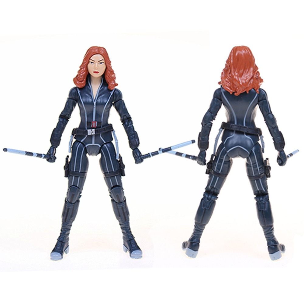 POP Marvel FunKo Fre Civil War Action Figure Captain America 3 Black Widow