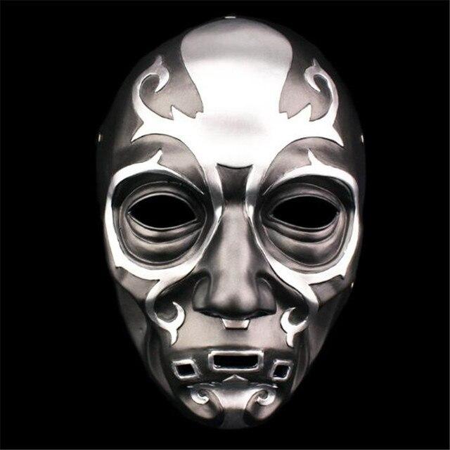 سلسلة الموت الآكل قناع هالوين الرعب مالفوي لوسيوس الراتنج أقنعة خاصة حفلة تنكرية تأثيري حلي الدعائم