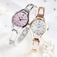 цена на 2019 New Fashion Silver Watch Women Luxury Brand Bracelet Dress Wrist Watches Ladies Stainless Steel Quartz Watch Clock montre