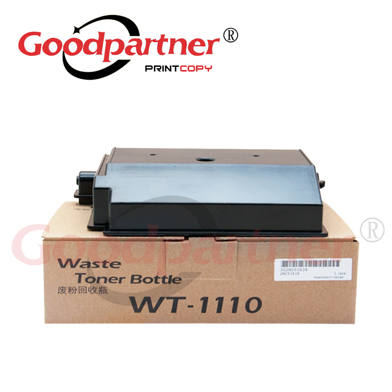 5PC WT1110 2M293030 302M293030 WASTE TONER BOTTLE Box for <font><b>Kyocera</b></font> Ecosys <font><b>FS</b></font> 1020MFP 1025MFP 1040 1041 1120MFP <font><b>1125MFP</b></font> 1220 MFP image