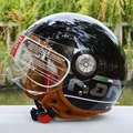 Vintage motorcycle beon helmets harley retro motocross casque motobike moto cross open face german helmets M/L/XL