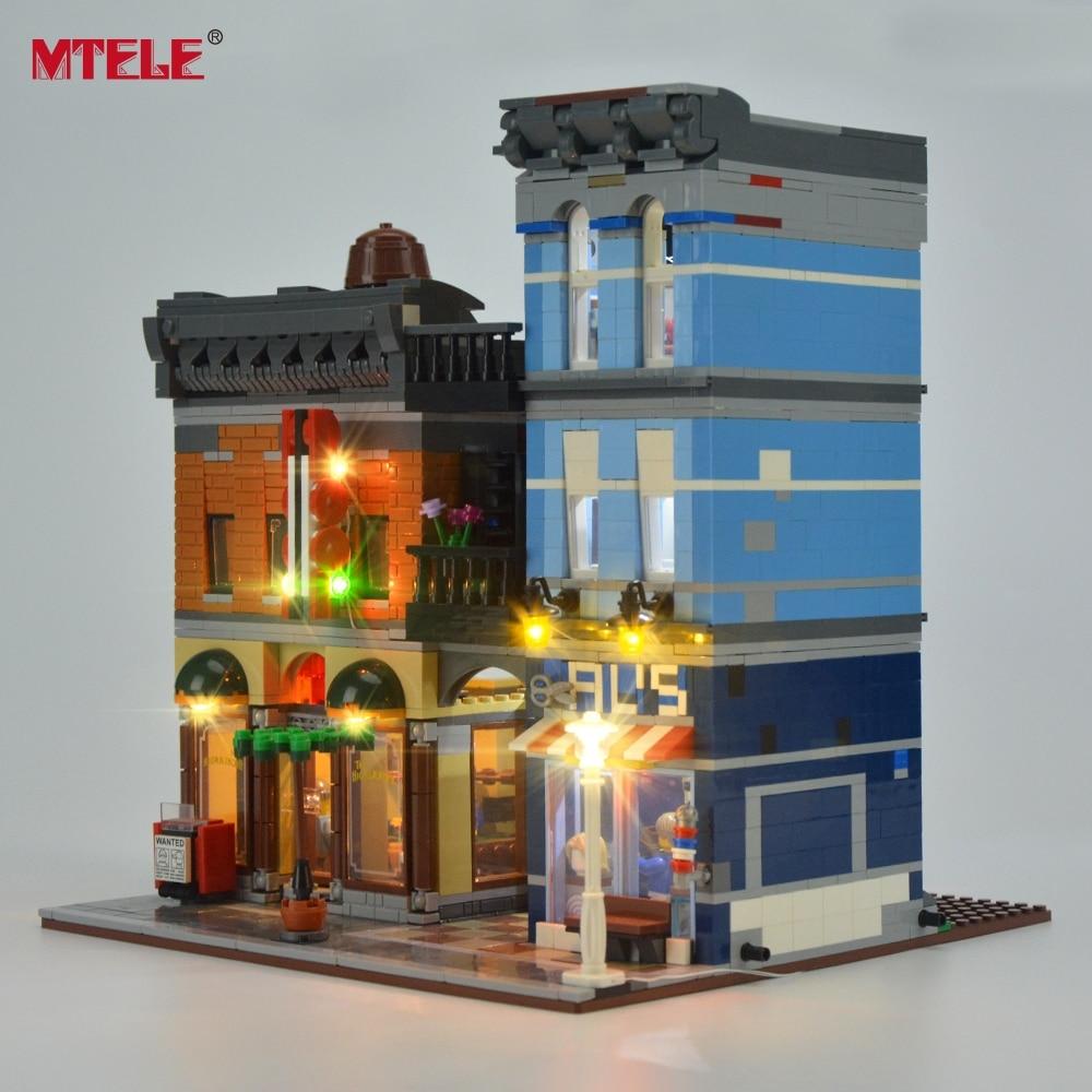 Komplet LED osvetlitve blagovne znamke MTELE za pisarniški komplet - Gradbeni igrače - Fotografija 2