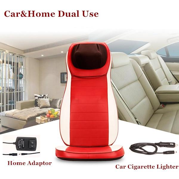 3D Carhouse Dual Use Full Body Massage Chair Cervical Massage Device Neck Massage -8661