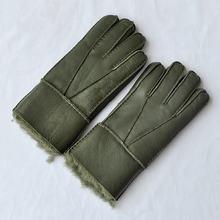 Бесплатная доставка 2 пары модные мужские шерстяные перчатки