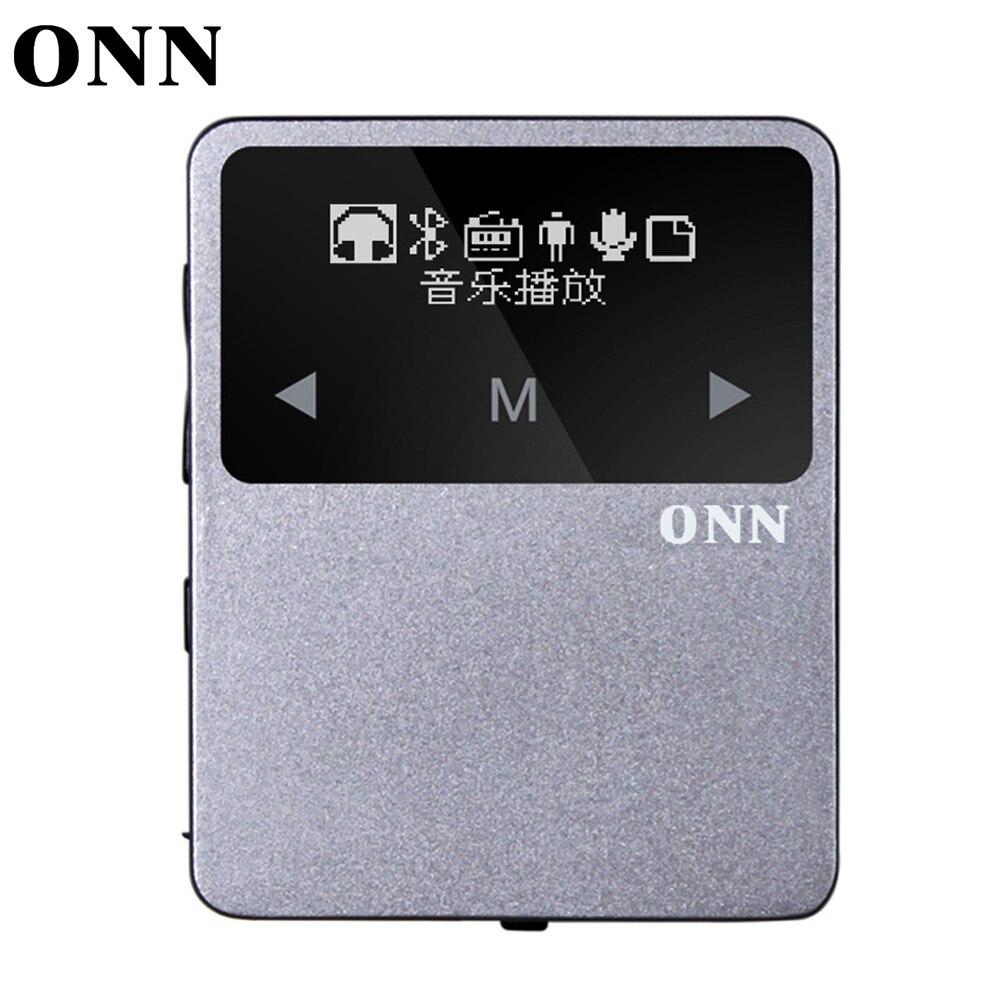 New Mini Clip Portable Bluetooth Sport MP3 Player with FM Radio Bluetooth Pedometer Multi funcation Music