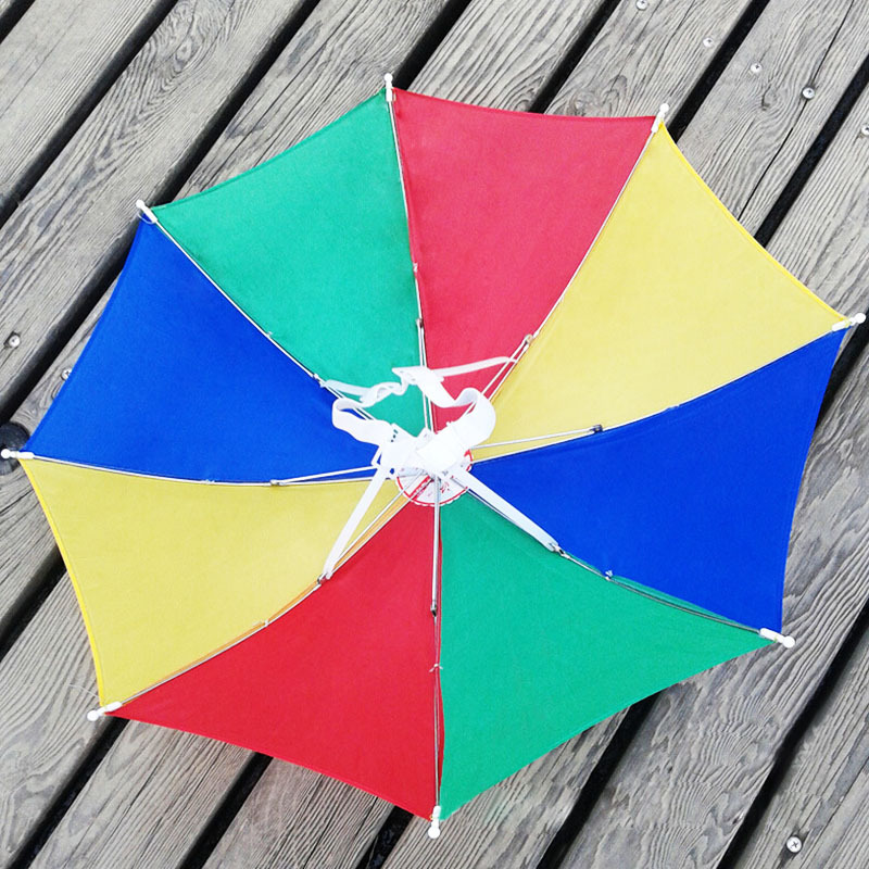 2d240041f61 Fashion Outdoor Foldable Sun Umbrella Hat Golf Fishing Camping ...