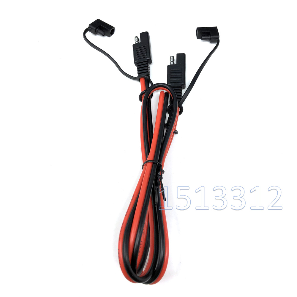 12V SAE Quick Connect Disconnects Waterproof Electrical Wire Battery Cable # 14
