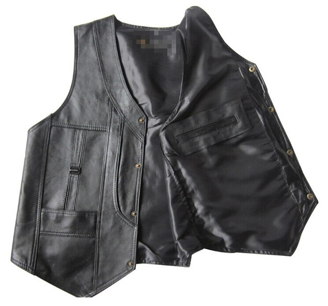 Men's Sheepskin Leather...