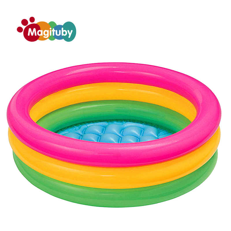 Swimming pools baby inflatable piscina infant fashion for Piscinas semienterradas