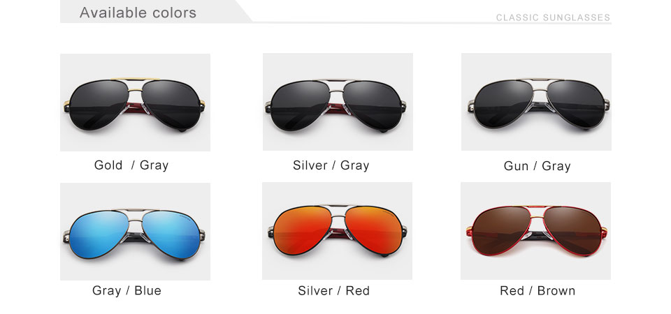 7-Day Delivery GIFTINGER Vintage Aluminum Polarized Sunglasses Brand Sun glasses Coating Lens Driving EyewearFor Men/Wome N725