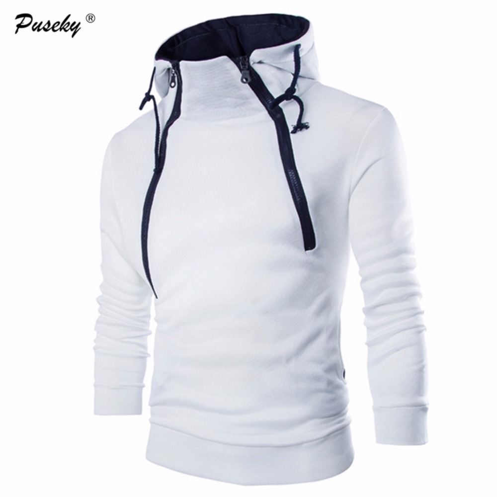 2017 Fashion Zipper Hooded Pullovers Men Hoodie Outwear Brand Hoodies Men Sweatshirt Male Casual Sportswear Moleton Masculino