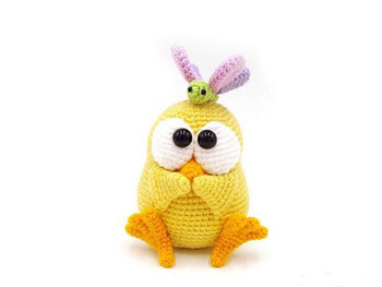 crochet toys  amigurumi bunny model number b0115