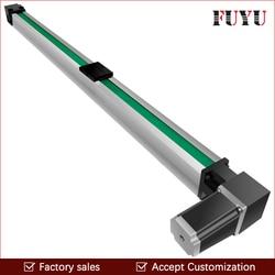 Gratis Verzending 200 ~ 3000mm slag cnc riem drive lineaire gids schuif rail actuator met motor 0.1mm accurancy