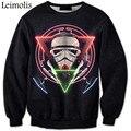 3D print Star Wars Darth Vader anti social social club thrasher palace bape yeezy off white bape shark hoodies men sweatshirt