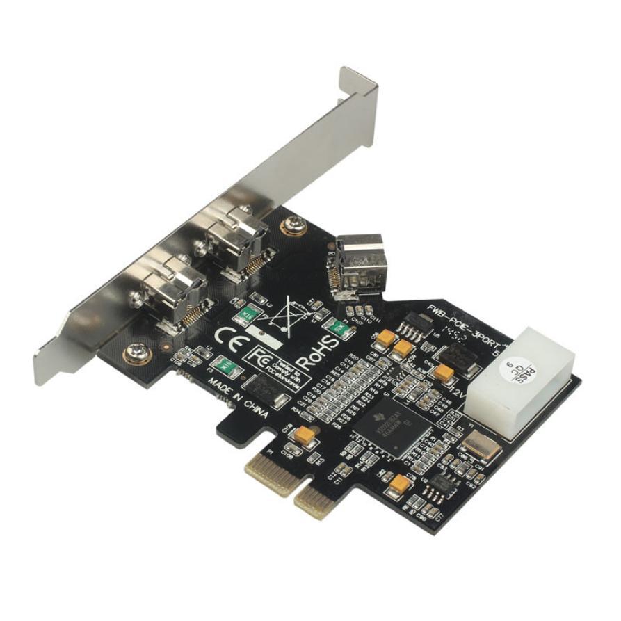 Online-Shop Echte Professionelle Neue PCI-Express IEEE 1394b ...