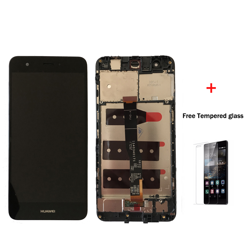 Original For Huawei Nova lcd CAN-L01 CAN-L02 CAN-L03 CAN-L11 L12 L13 LCD Display+Digitizer touch Screen Assembly with frame