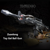 Zhenduo Toy Drilling dragon Special Team Manually Under bouncing Bullets Water Gun Child simulation gun outdoor CS battle6