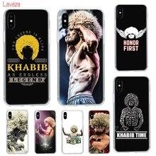 Lavaza khabib nurmagomedov UFC Hard Phone Case  for iPhone XS Max XR Cases for Apple iPhone 6 6s 7 8 Plus 4 4S 5C 5 5S SE Cover аккумулятор krutoff для apple iphone 4 4s 49242 49219