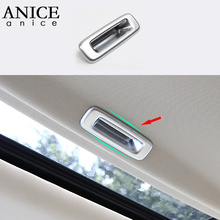 Chrome ABS Inner Roof Sunroof Handle Frame Cover Trim Fit For Honda Accord 2013 2014 2015