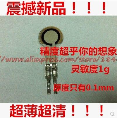 Free Shipping Sensitivity Far Ultra FSR Resistance Type Film Pressure Sensor 0-500g 38umPET