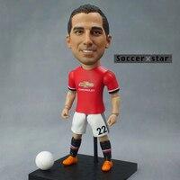 Soccerxstar Figurine Football Player Movable Dolls 22 MKHITARYAN MU 2018 12CM 5in Figure BOX Include Accessories