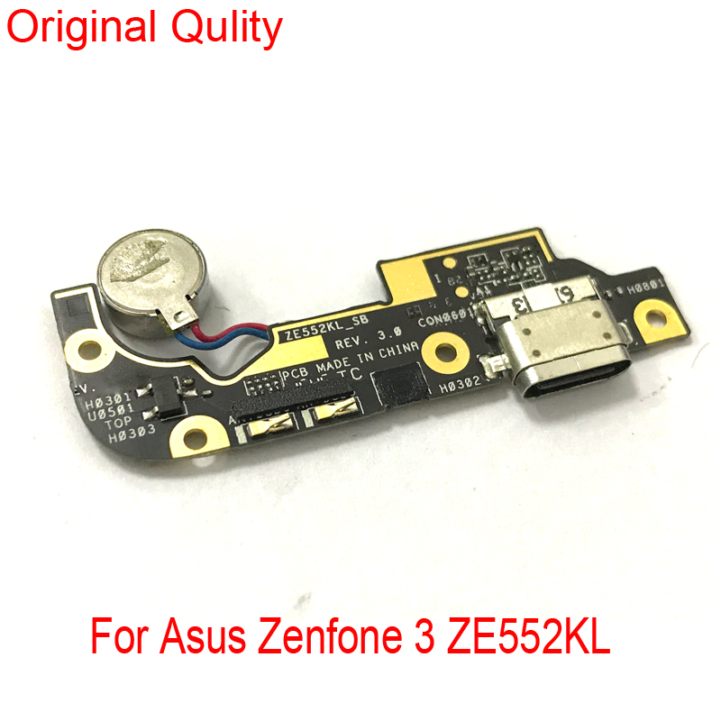 For Asus Zenfone 3 ZE520KL ZE552KL Micro USB Charger Dock Connector Charging Port Microphone Flex Cable Replacement Parts