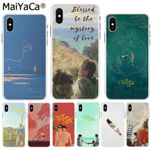 MaiYaCa Please call me by your name tv hot Colorful Phone Accessories cover for iPhone 8 7 6 6S Plus X XS max 10 5 5S SE XR(China)