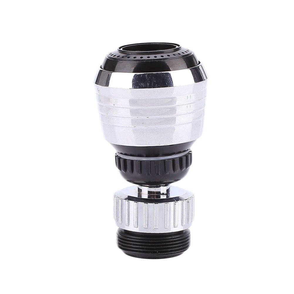 360 градусов Поворотный кухонный брызгозащищенный кран пузырьковый фильтр опрыскиватель-кран
