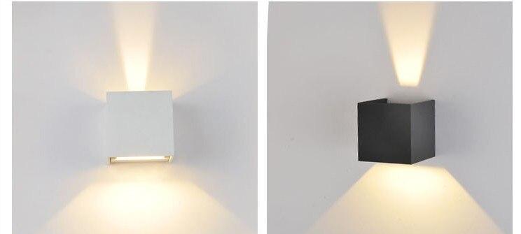 Lamparas De Pared 6 W Led Exterior Lampara De Pared Impermeable - Lmparas-de-pared